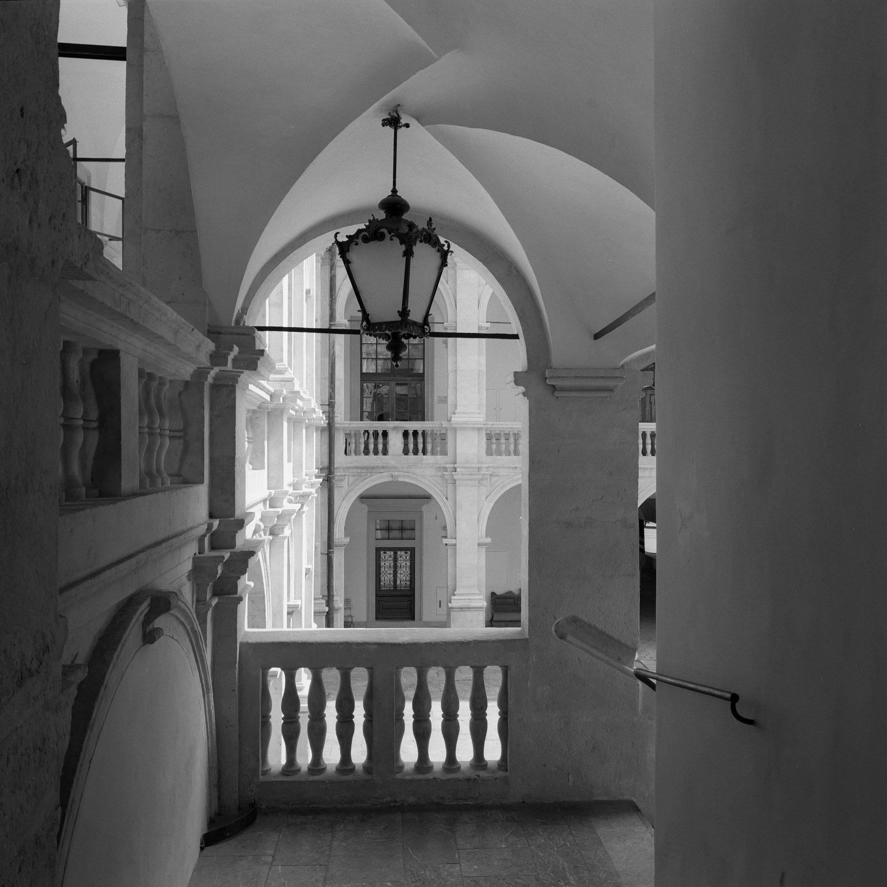 Landhaus Courtyard #1