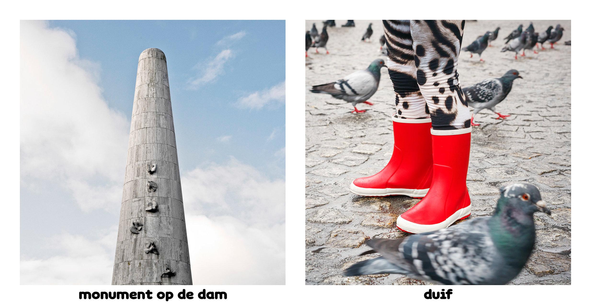 Monument op de Dam - duif Amsterdamsedingen Immink-Faber.jpg