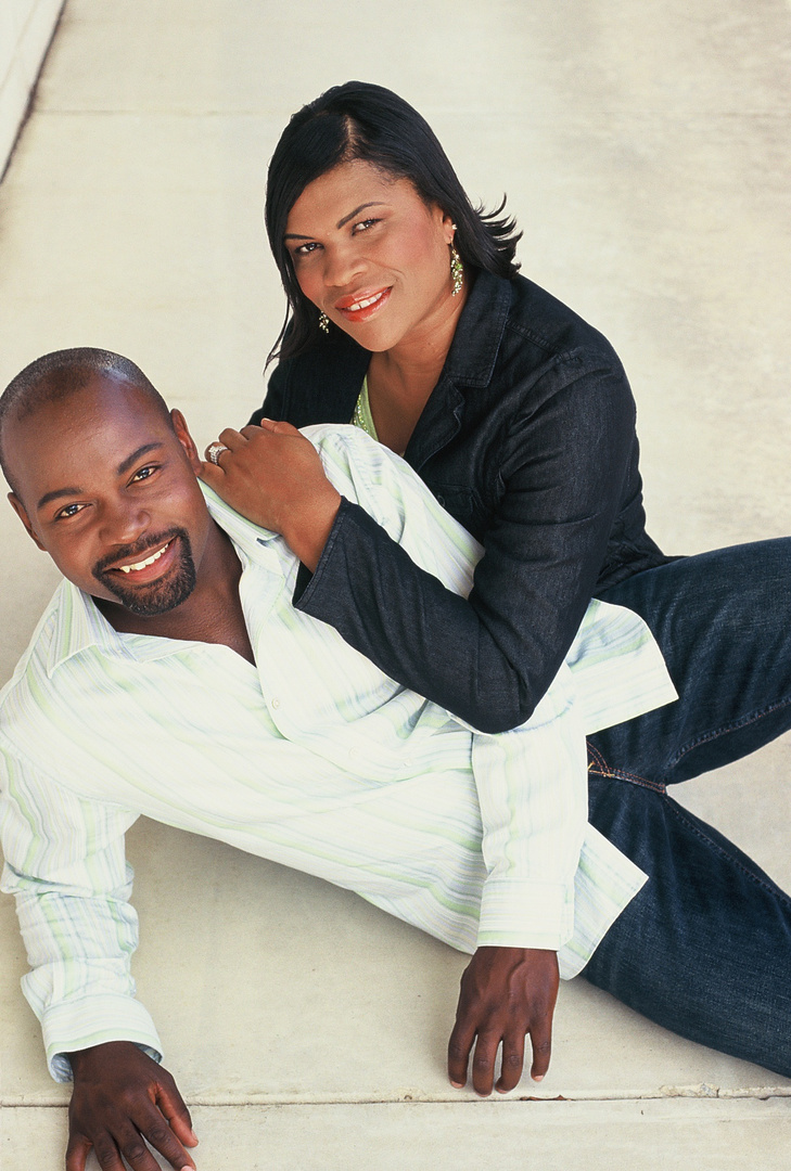 "COUPLE- HEANON TATE, NAKEESHA  Heanon has appeared in the tv show ""ARMY WIVES"""