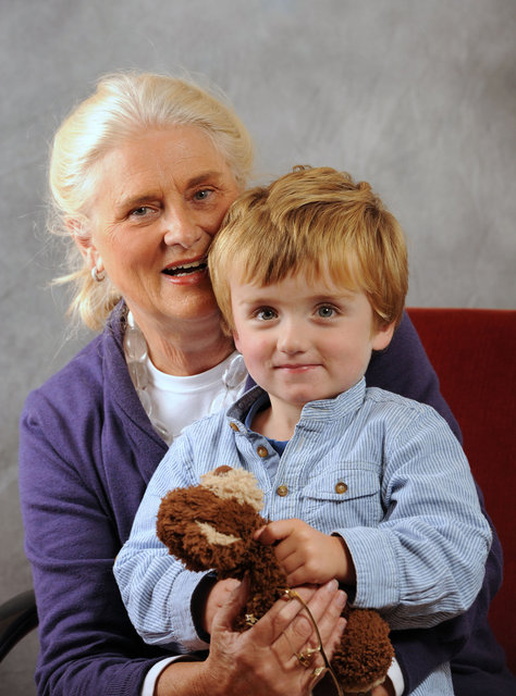 Mart en Oma Willemijn