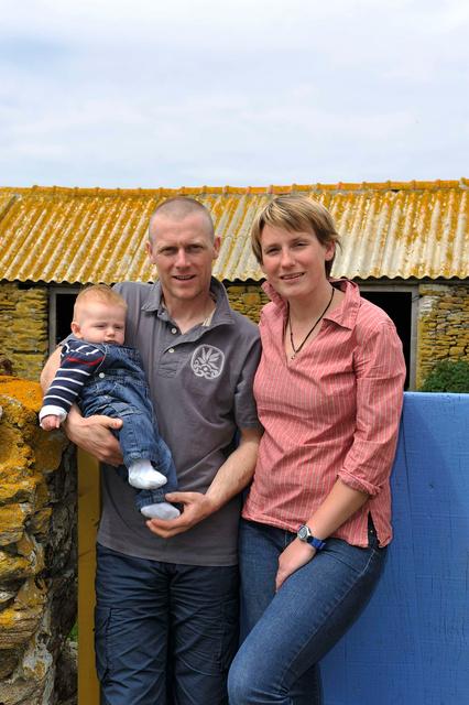 Avec le petit dernier, Jules, né en Mars 2012