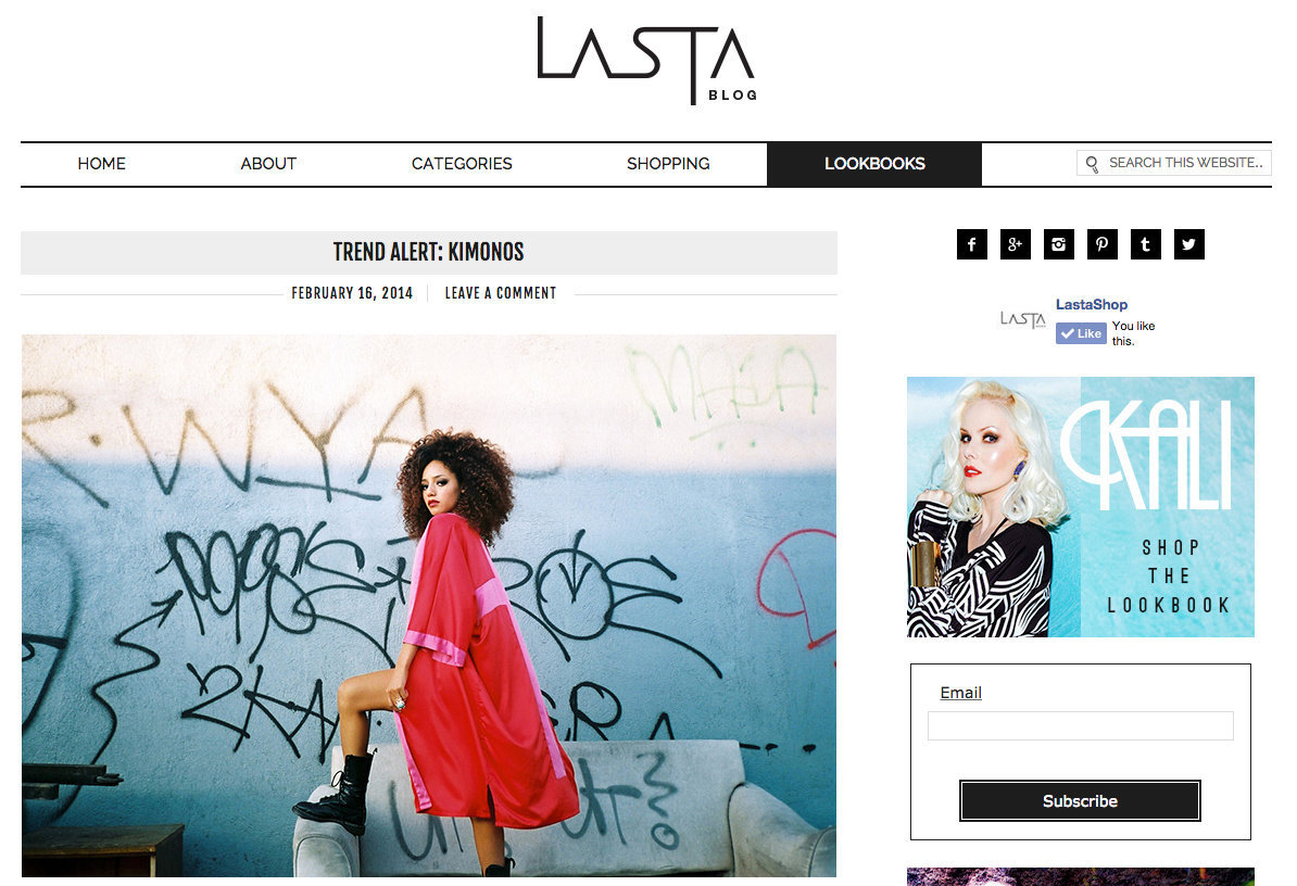 LASTASHOP BLOG- Trend Report