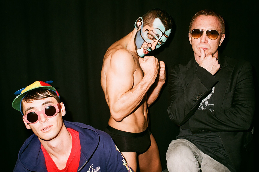 Cyril Duval, Luizo Vega and Bruce LaBruce in Pankow
