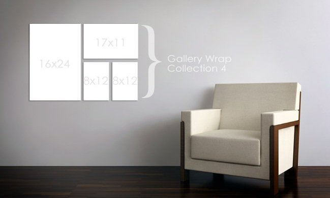 Gallery Wrap Collection 4