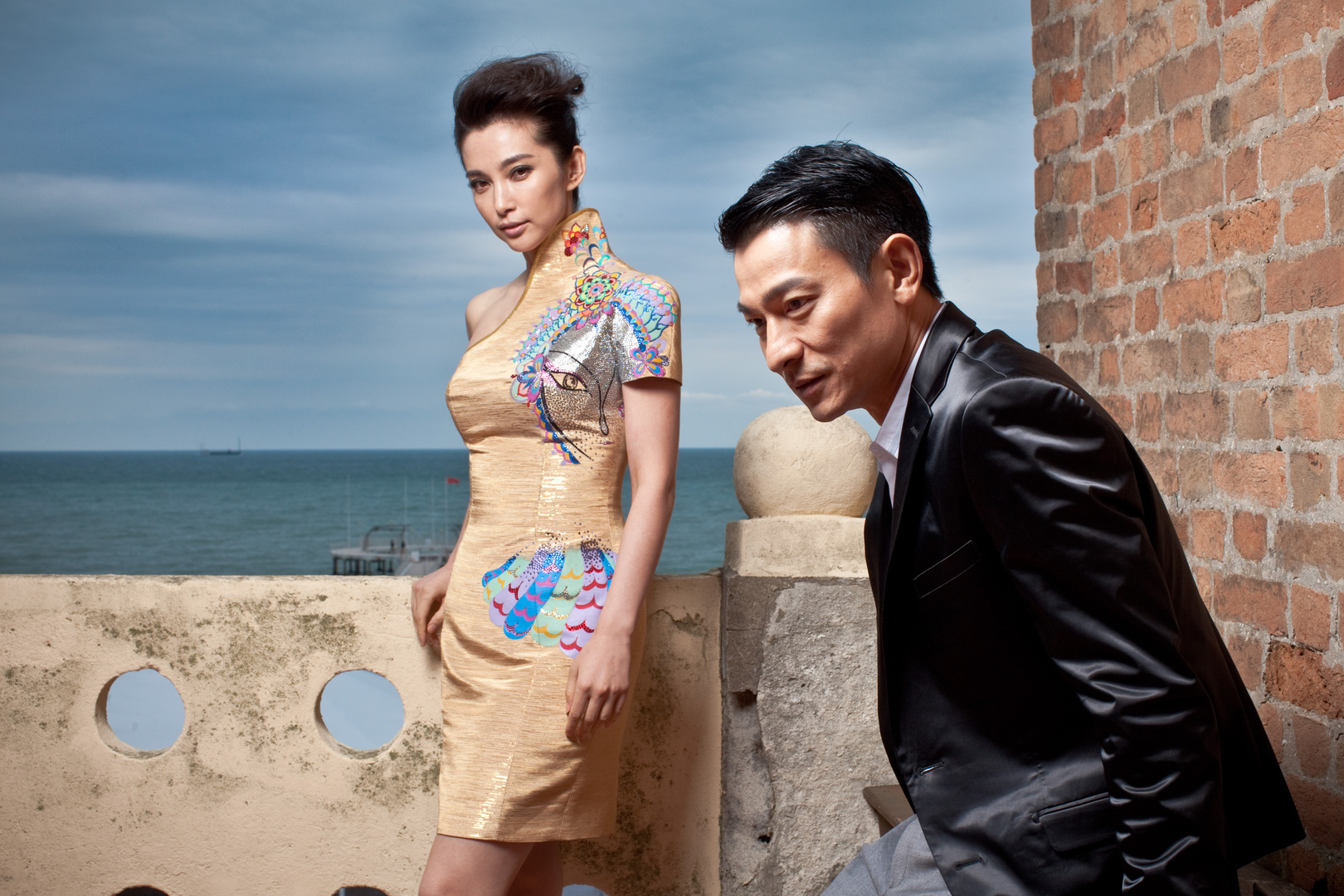 li bingbing and andy lau, actors