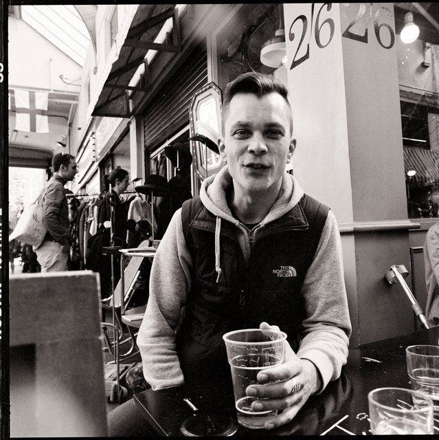 JONAS VOSS,BRIXTON MARKET,LONDON,ENGLAND