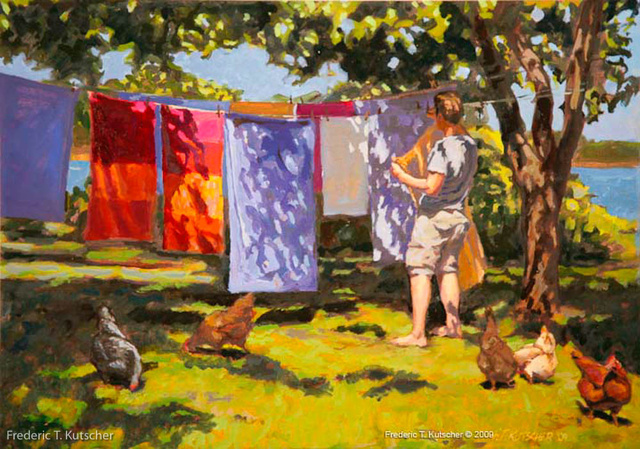 Hanging the Wash (a-k-a Susan's Dream)