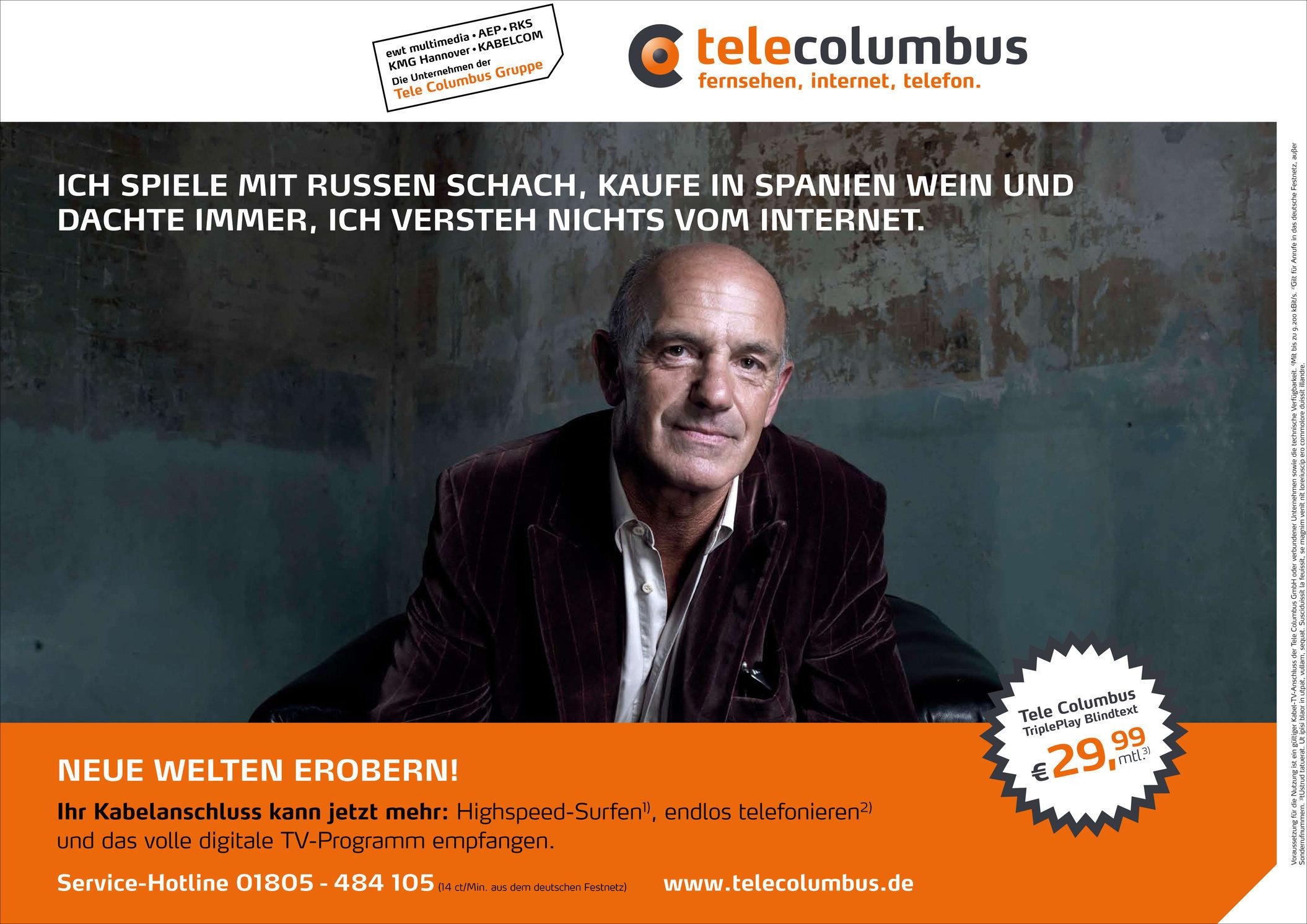Tele Columbus / Plakatkampagne