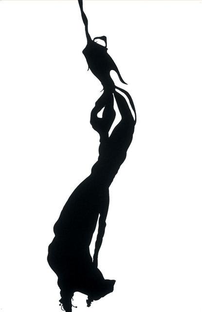 Hibiscus Silhouette I