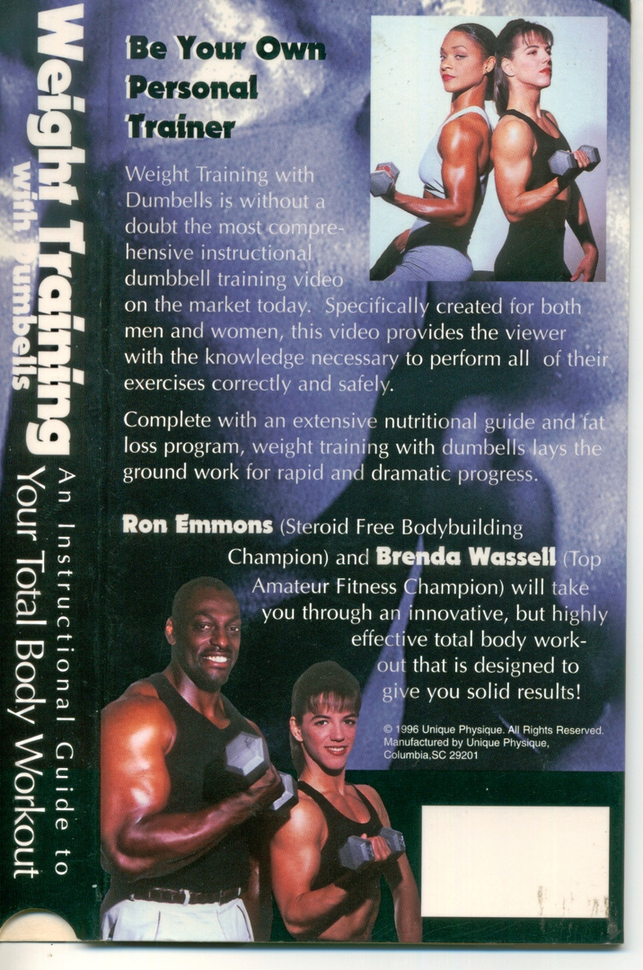 RON EMMONS, BRENDA WASSELL fitness  experts.