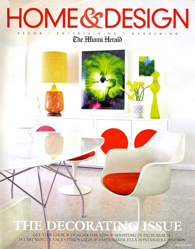 Cover Miami Herald- Designer Doug Meyer