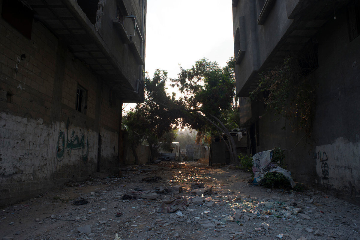 Gaza City. The beginning of the ceasefire