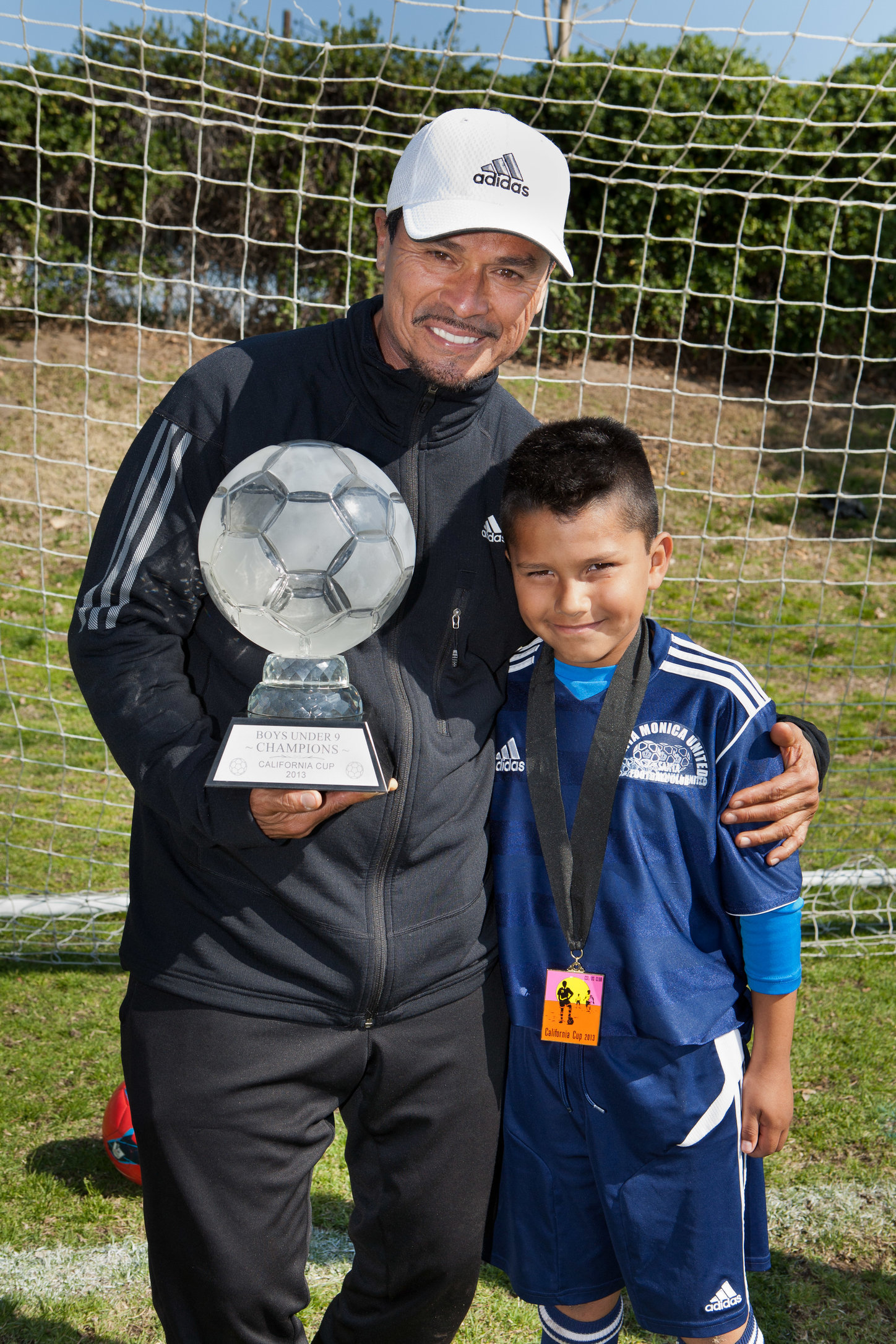 Coach Nico and Isaac Macias