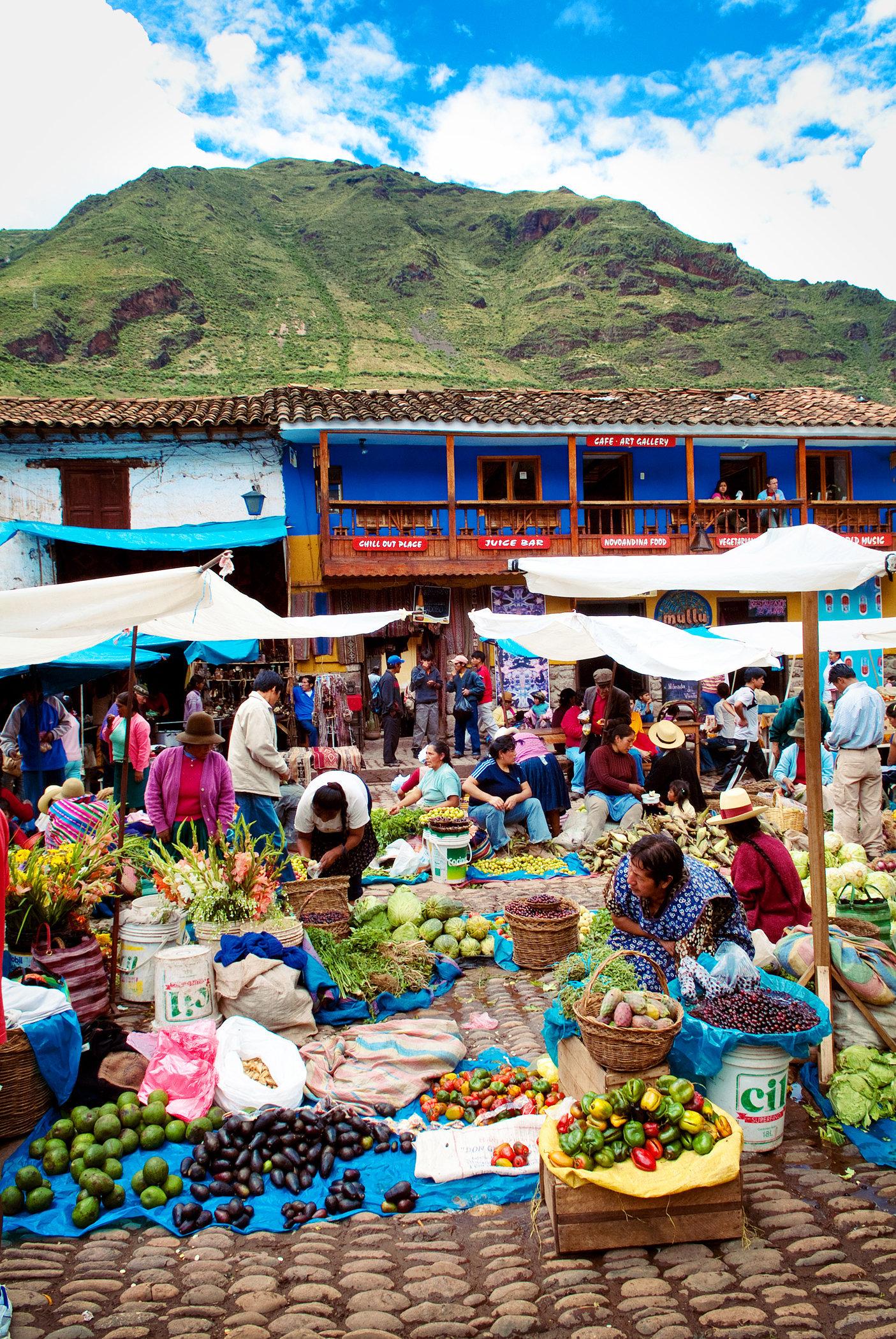 Pisac Market I