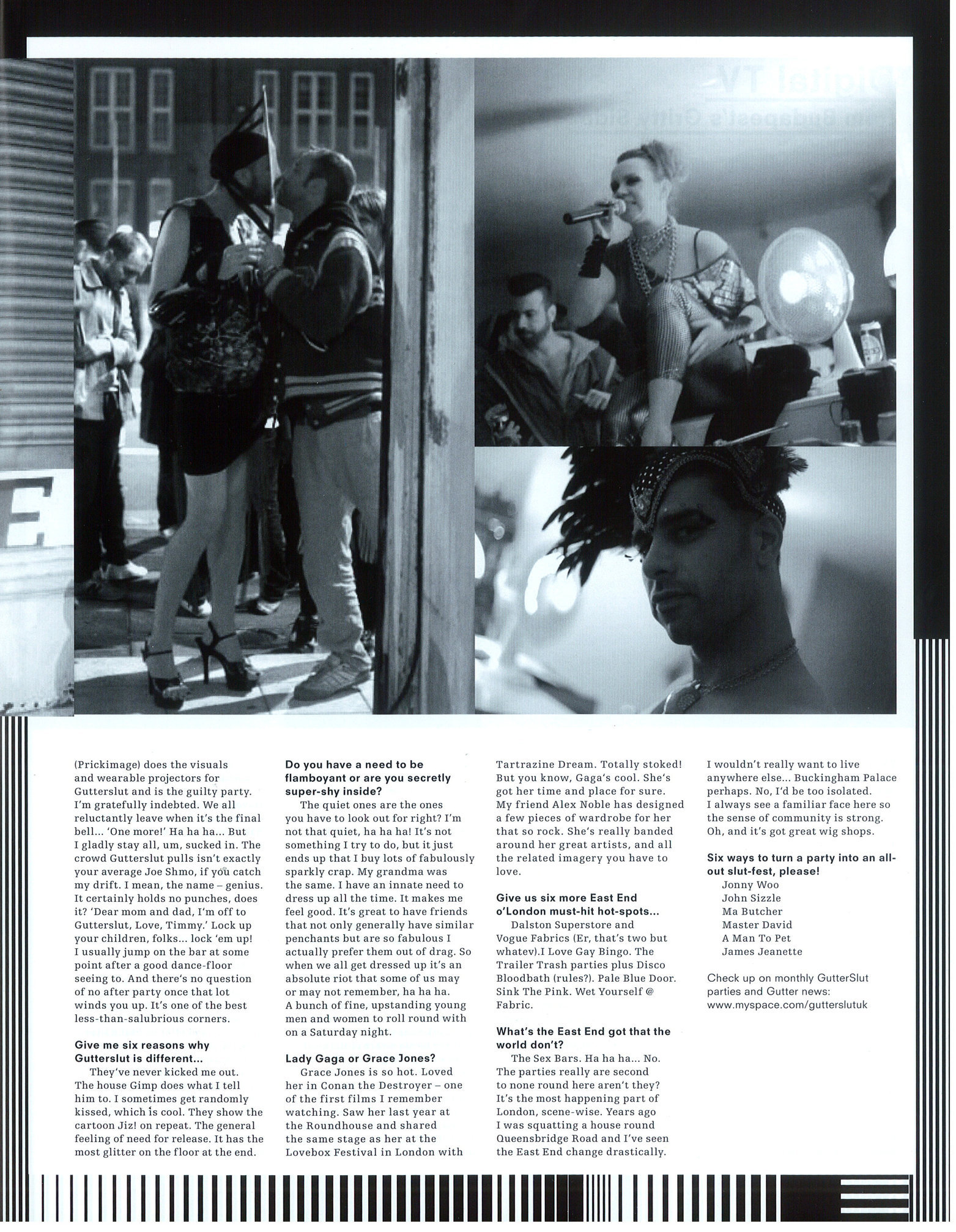 B.EAST, Issue 12, ''Gutterslut'', Gutterslut_2.jpg