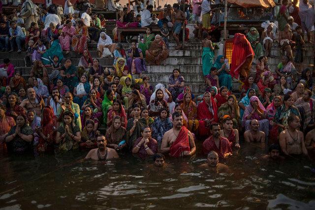 La Festa della Luna Rossa, Varanasi,