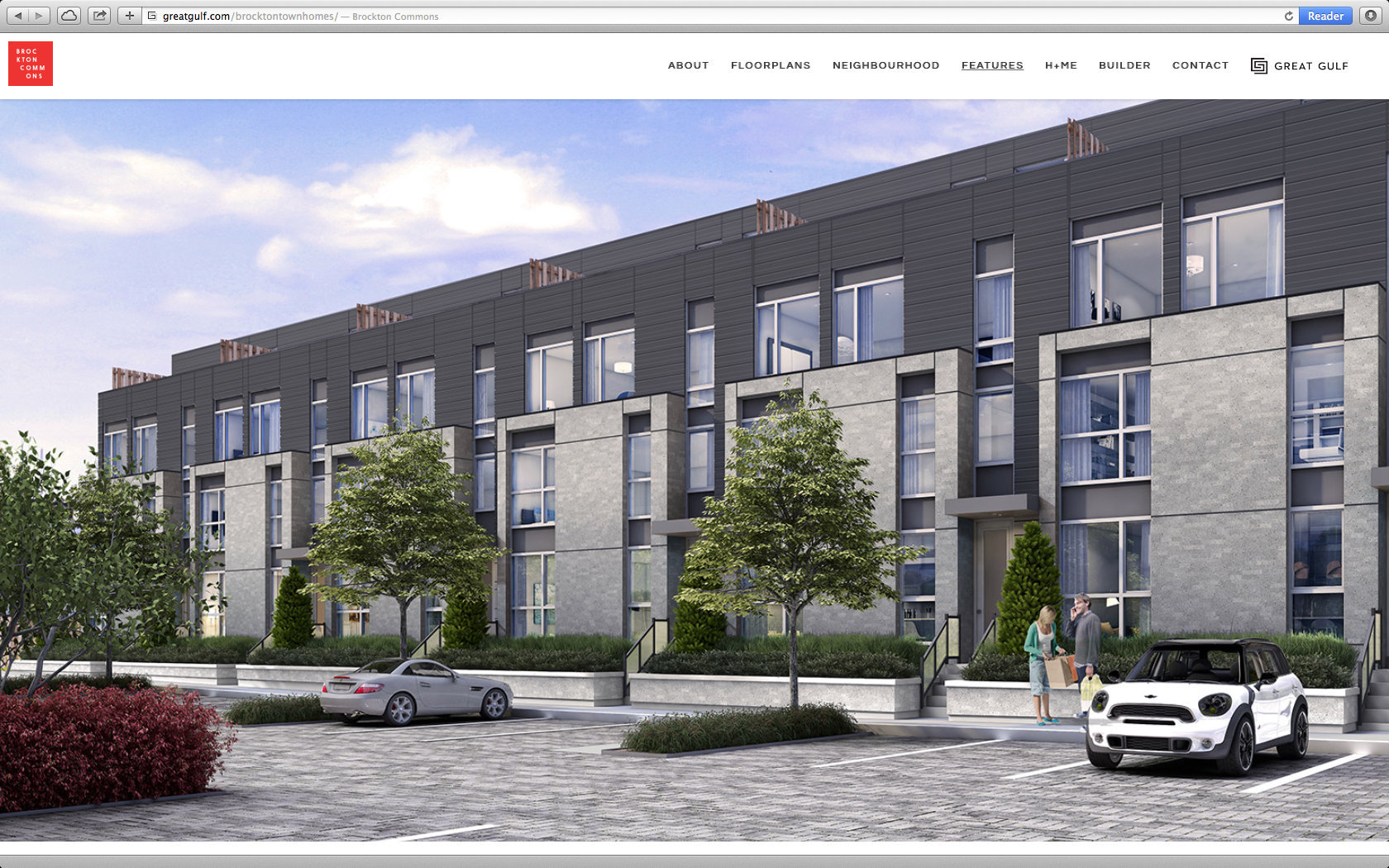BROCKTON COMMONS TOWNHOMES WEBSITE  12/13