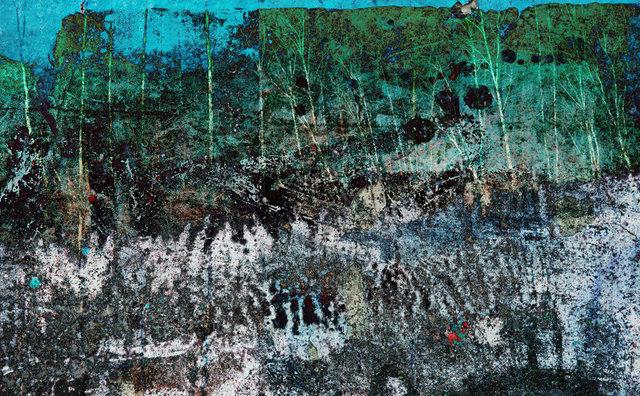 Krajobraz, wnętrze, vigrafia 114, 112x78