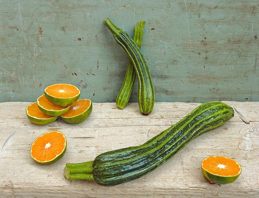 Zucchini & Tangerines, c 2007