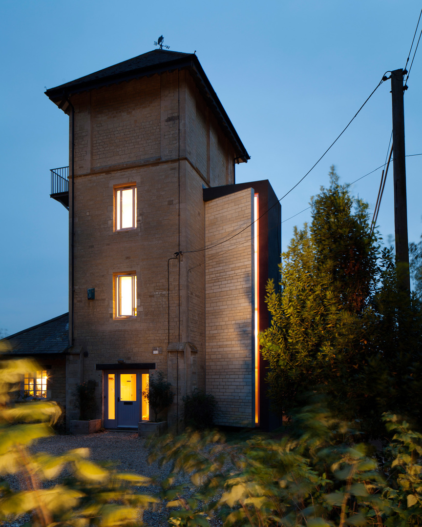 Watertower conversion, Northamptonshire. Baynes and Co Architects