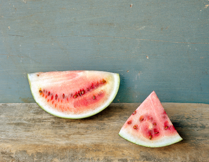 Watermelon, in Two Pieces, c 2007