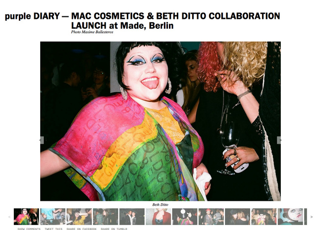 purple DIARY   MAC COSMETICS   BETH DITTO COLLABORATION LAUNCH at Made  Berlin.png