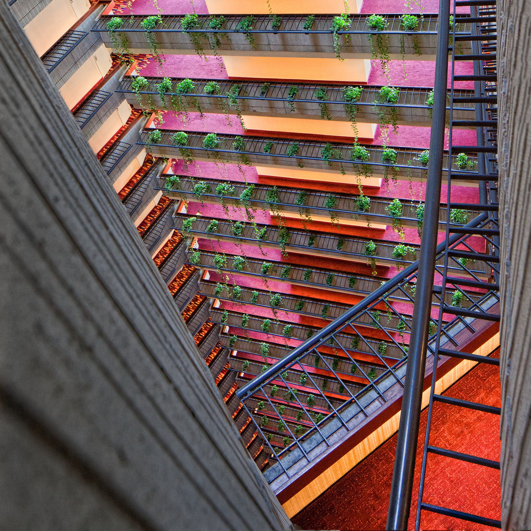 Marriott Marquis Downward Abstract