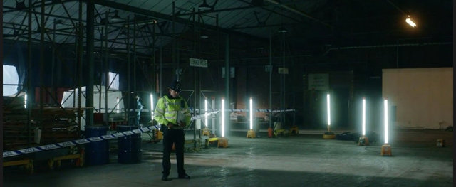 Scene of crime - Dressed location