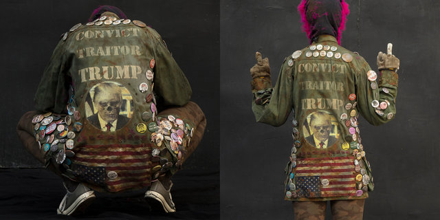 FUCK TRUMP JACKET
