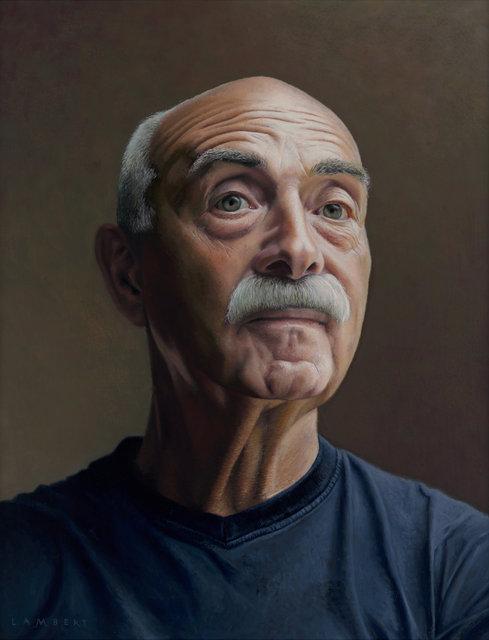 Portret van Aad, 2015