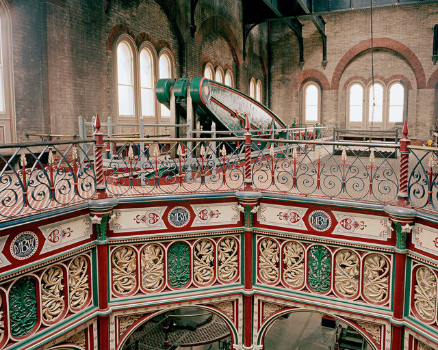 Central Octagon and Main Beam Floor, Crossness Pumping Station, Abbey Wood, London