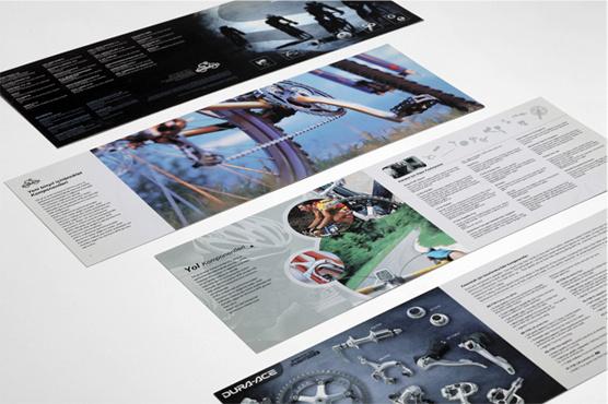 Shimano Campaign - Brochure design
