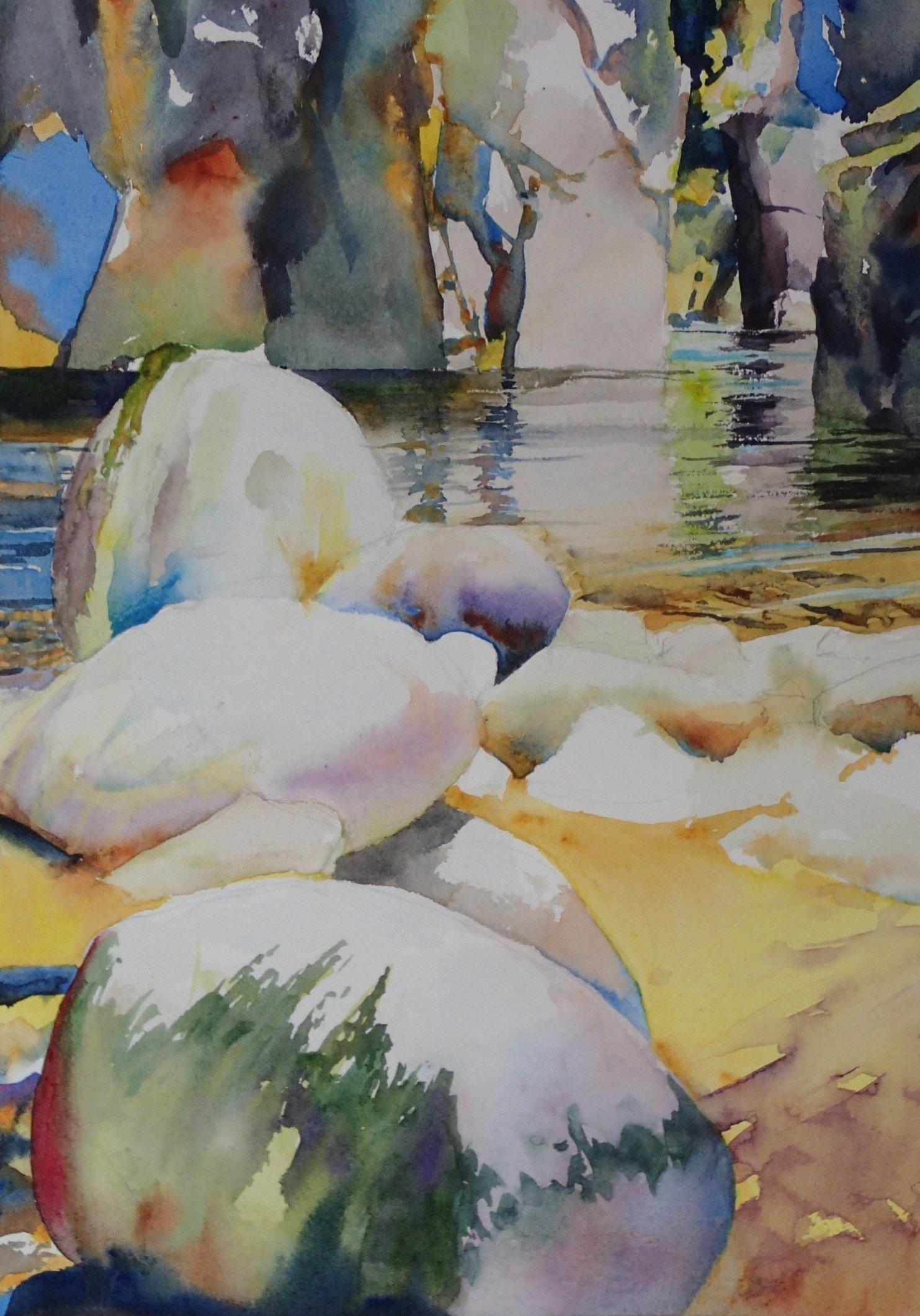 Capilano Canyon colours (Sold)