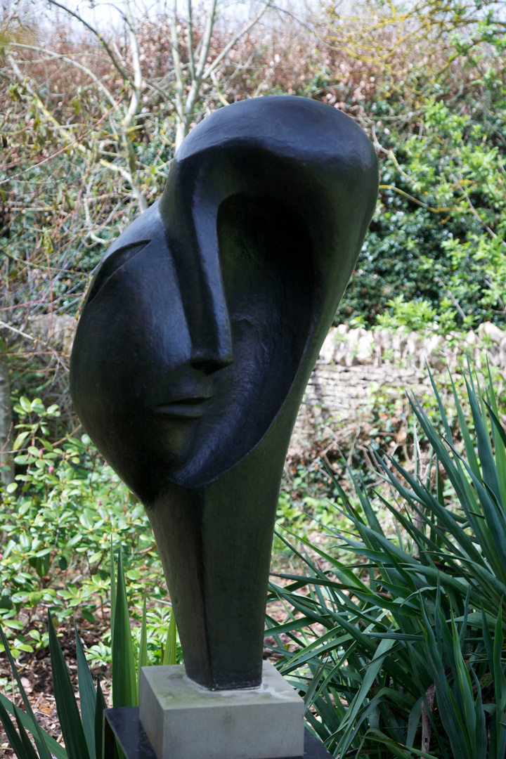 Dark Side of the Face  1999 Height 90 cm  Bronze Resin  Kingham 2012  SOLD
