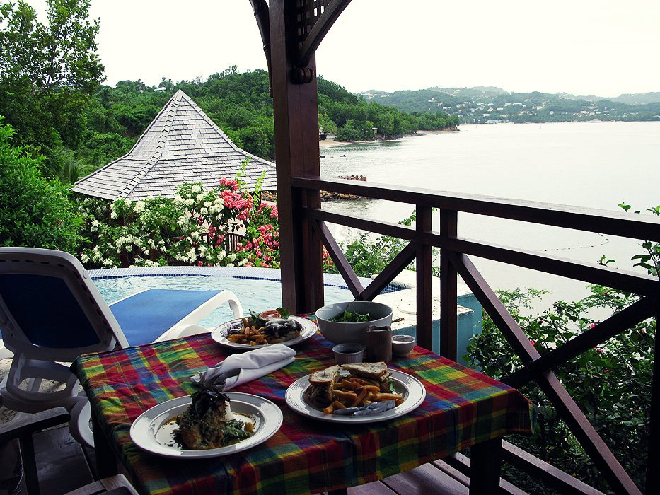 Having a meal overlooking the water.jpg