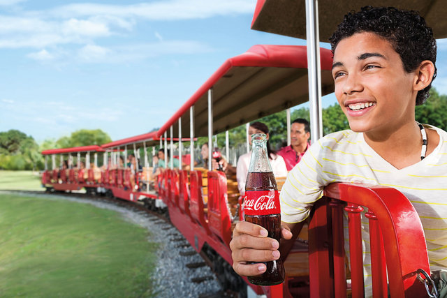 Coca Cola Ad by Gary Land