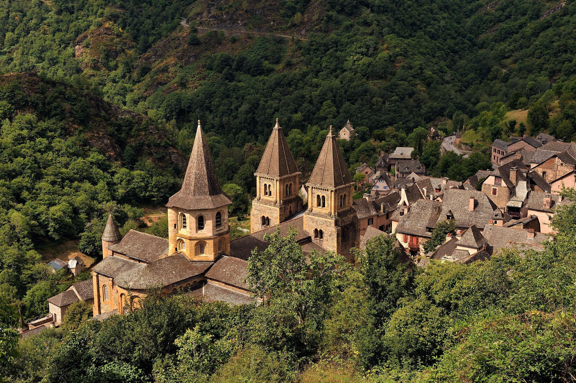 Le village de Conques