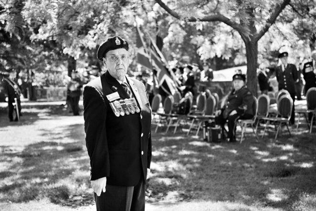 D-Day Ceremony, St. John's Norway Cemetery