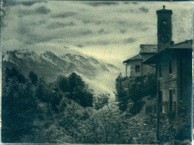 View of Monte Baldo, Trentino