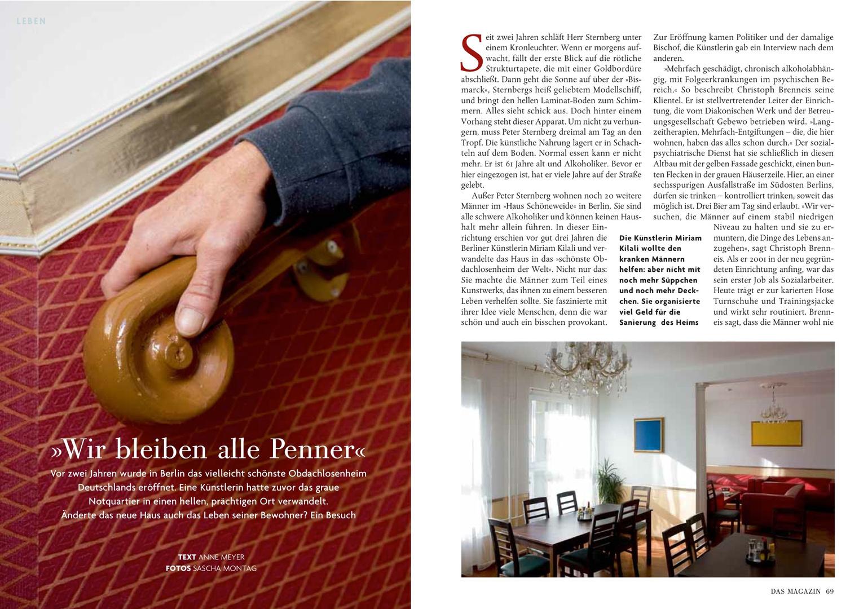 Das Magazin Oktober 2010