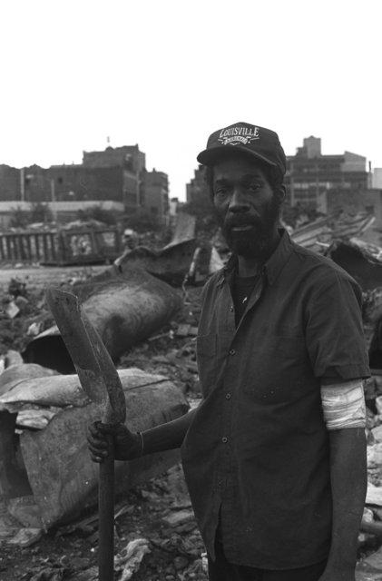 Homeless in Harlem, NYC