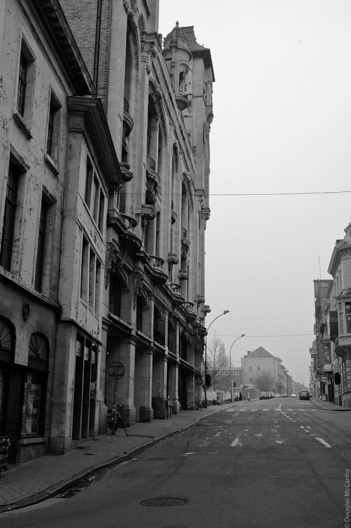 Saturday morning noir, Gent