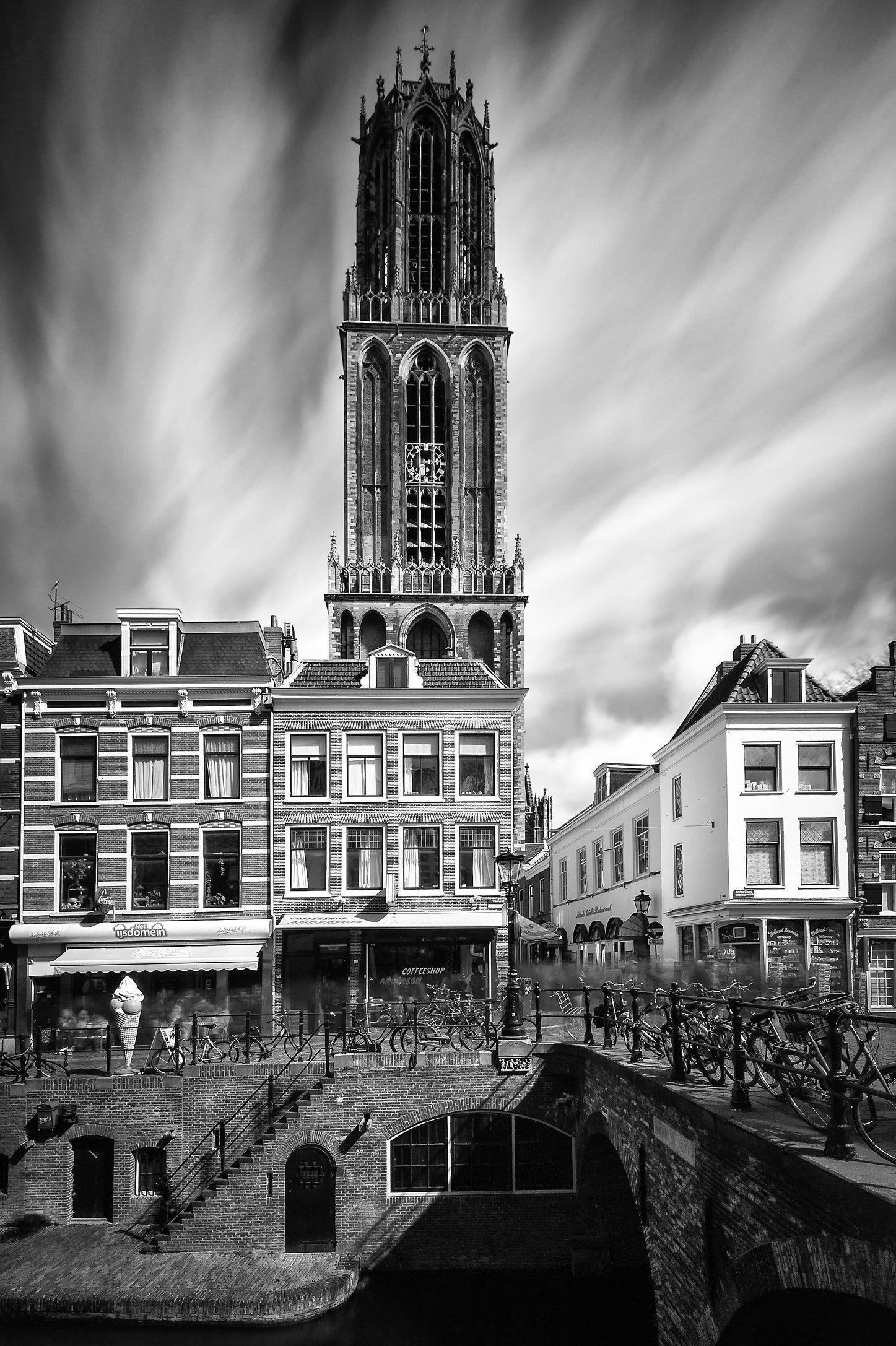 Domtoren en Maartensbrug, Utrecht