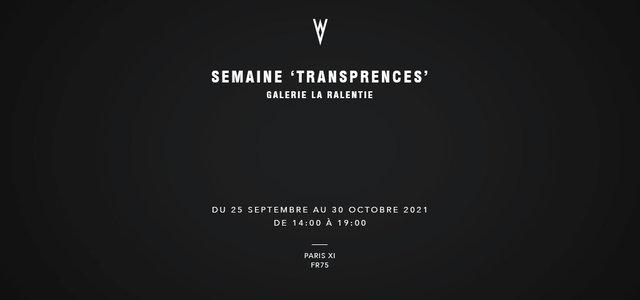 Semaine 'Transparences'