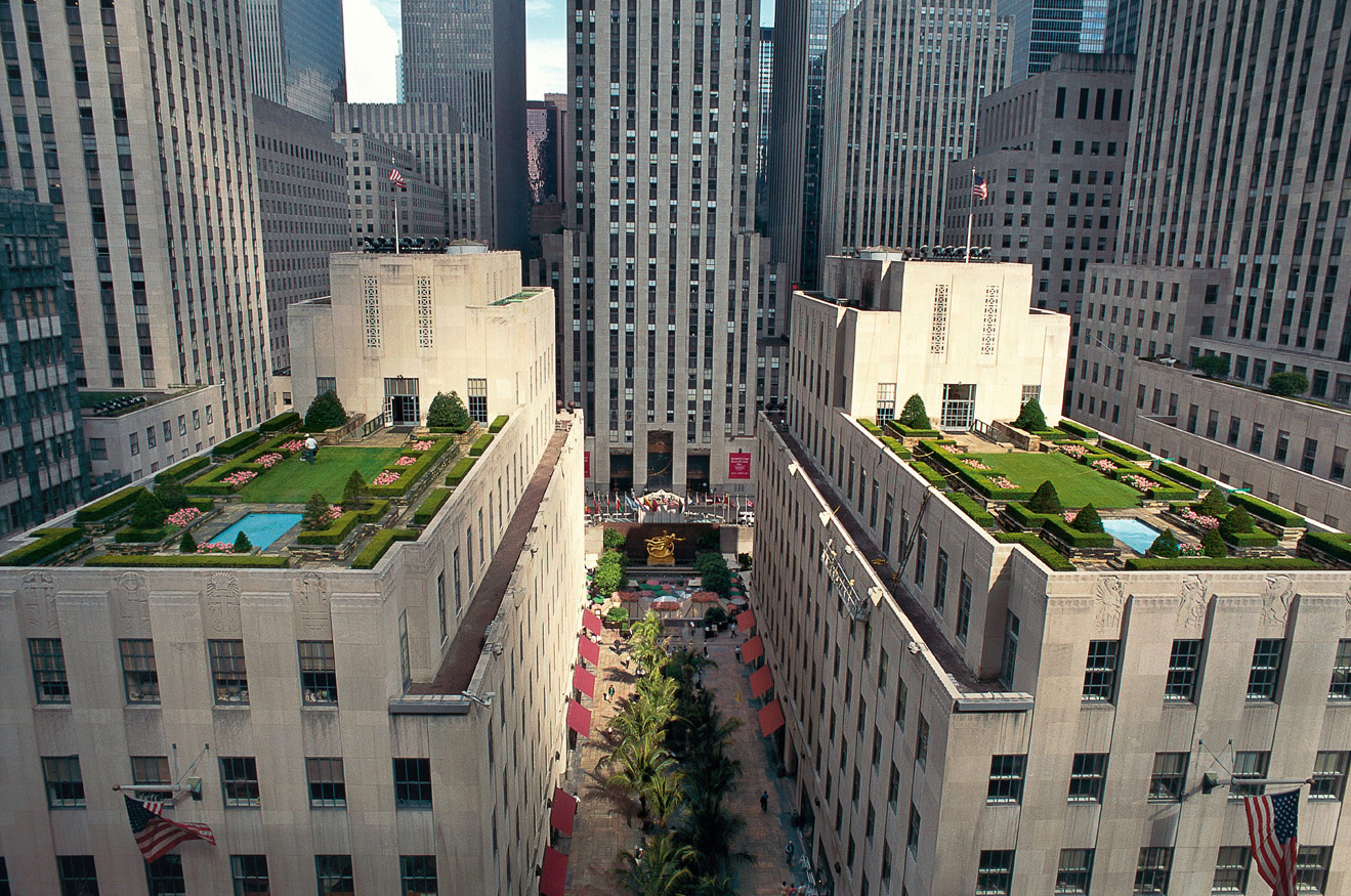 Rockefeller Center roof gardens, Ralph Hancock