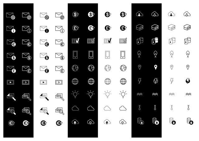 iconen reeks
