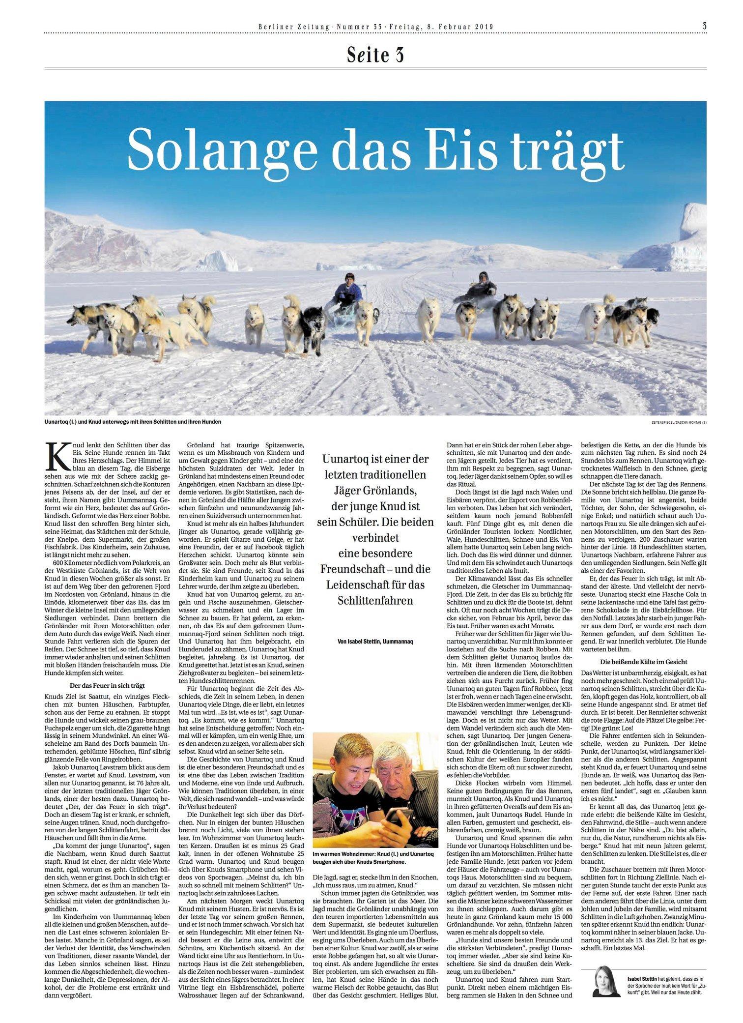 Berliner Zeitung 02.19