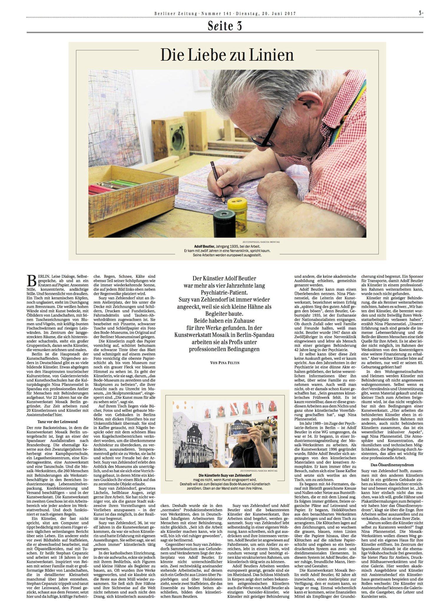 Berliner Zeitung 20.06.17
