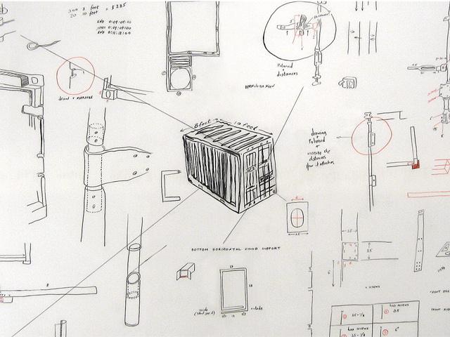 Drawing 1, detail