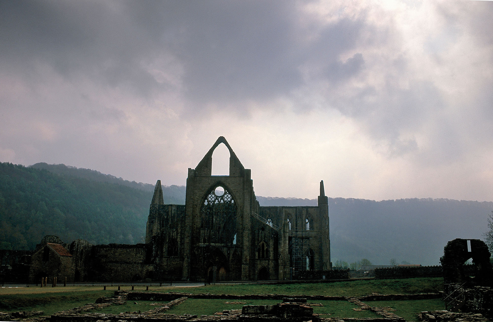Abbaye de Tntern, Galles